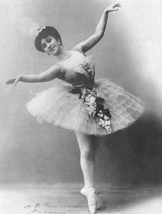 Матильда Кшесинская в балете «Талисман», ок. 1910