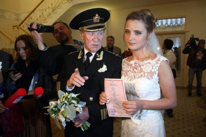 Иван Краско и Наталья Шевель в 2015 году