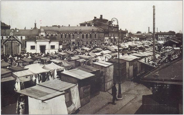 Рогожский рынок в начале XX века