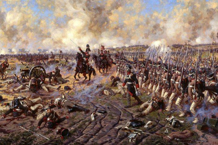А.Ю. Аверьянов «Князь П. И. Багратион в Бородинском сражении. Последняя контратака»