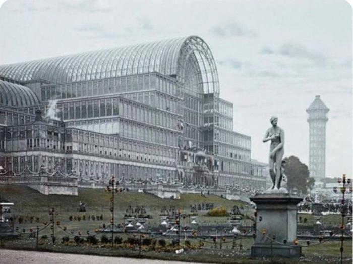 «Хрустальный дворец» в лондонском Гайд-парке, 1851 год