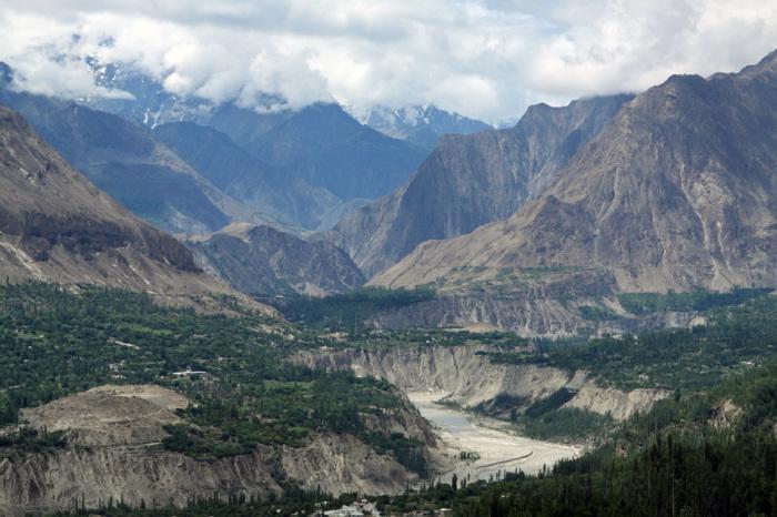 Долина Хунзы – невероятно живописное место