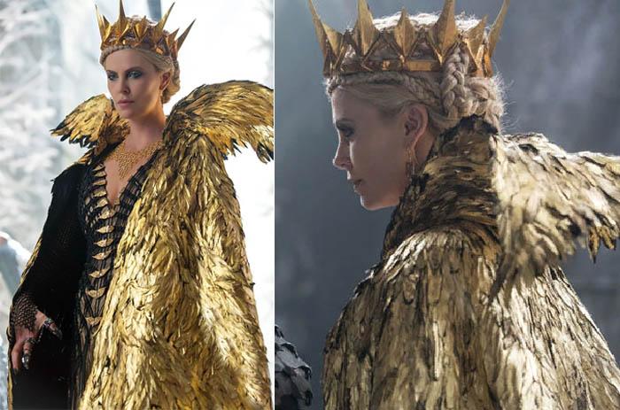 «Белоснежка и охотник – 2», золотой наряд королевы Ровенны