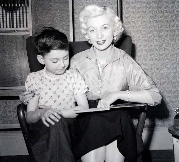 Рут с сыном Энди
