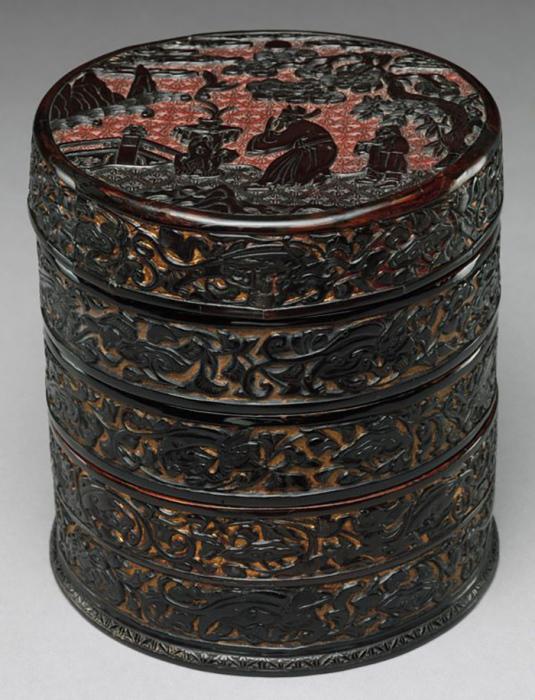 Сегодня для коллекционеров даже производственный китайский резной лак XX века является большой редкостью