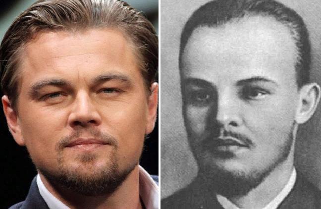 Леонардо Ди Каприо и Владимир Ульянов-Ленин