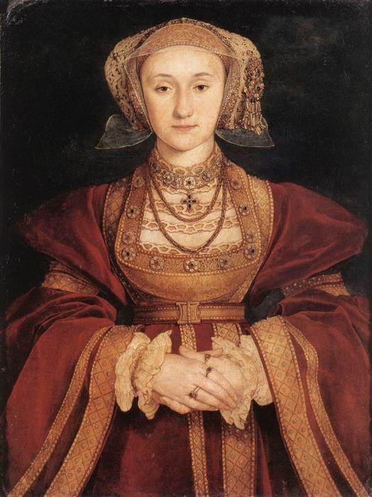 Анна Клевская, портрет работы Ганса Гольбейна (младшего)