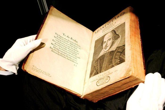 Первое фолио Шекспира – одна из самых дорогих книг в мире