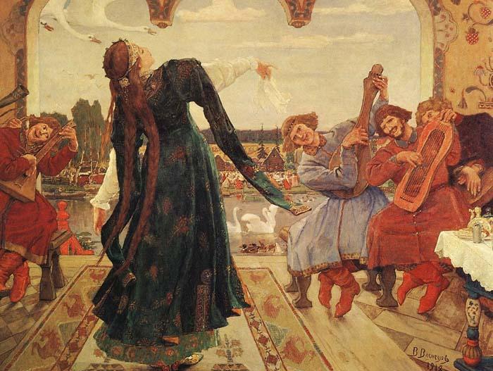 Иллюстрация Виктора Васнецова к сказке «Царевна-лягушка»