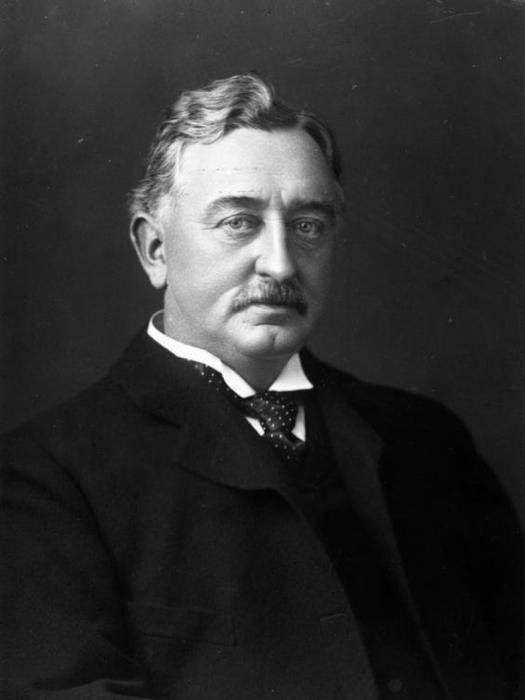 Премьер-министр Капской колонии, миллионер и деятель британского империализма Сесил Родс (1853-1902 гг.)