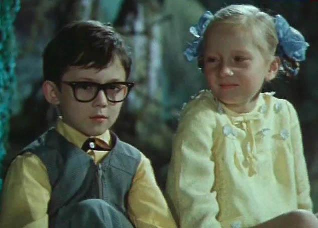 Кадр из к/ф «Новогодние приключения Маши и Вити», 1975 год