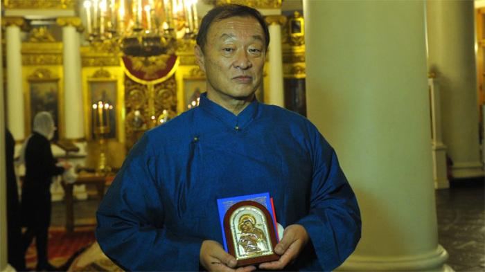 Кэри-Хироюки Тагава после принятия православного крещения