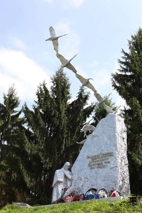 Памятник братьям Газдановым