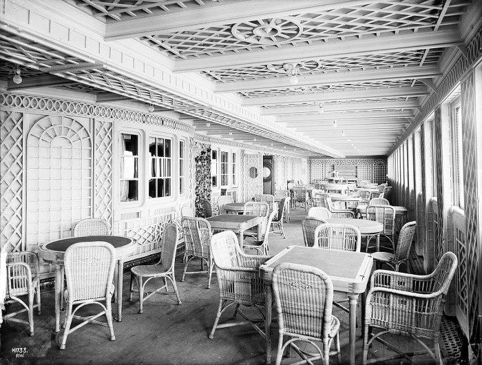 Кафе «Паризьен» на Титанике