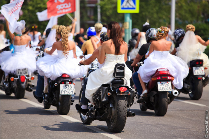 Парад невест в Липецке