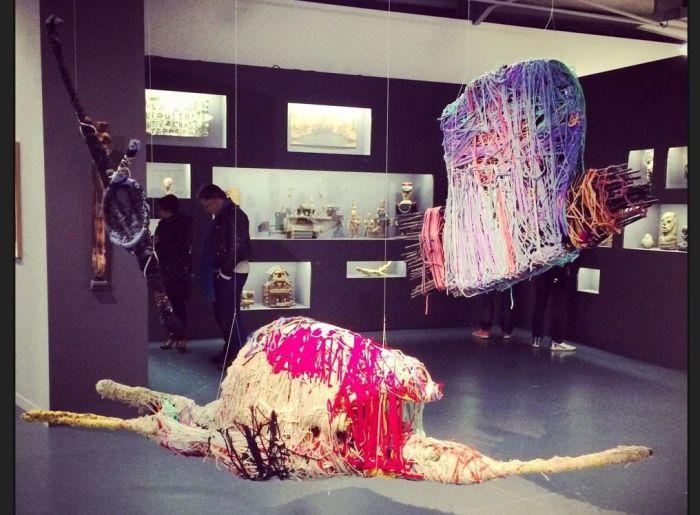 Арт-объекты, созданные Джудит Скотт сегодня выставляются в крупнейших музеях мира
