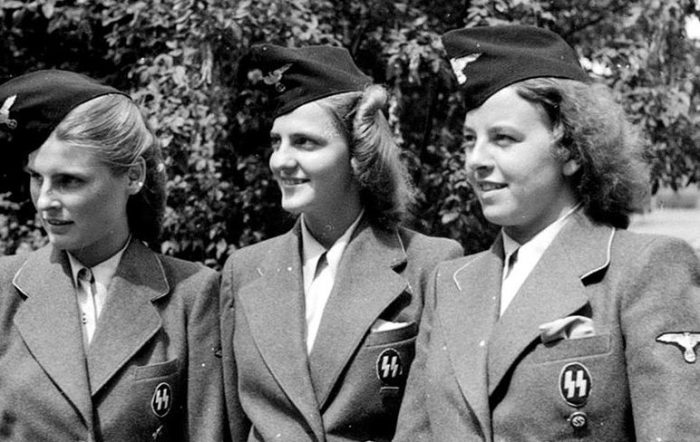 Женщины вспомогательного подразделения СС