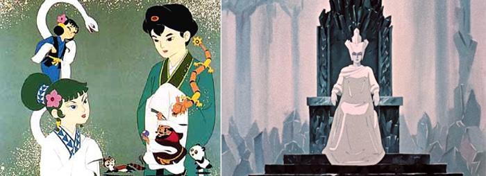 2 мультфильма, потрясшие воображение молодого Хаяо Миядзаки - «Легенда о черной змее» и «Снежная королева»