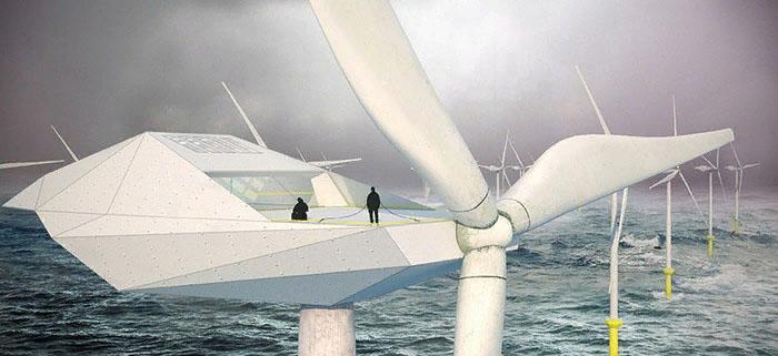 Wind Turbine Loft – жилые квартиры в гигантских ветряных турбинах