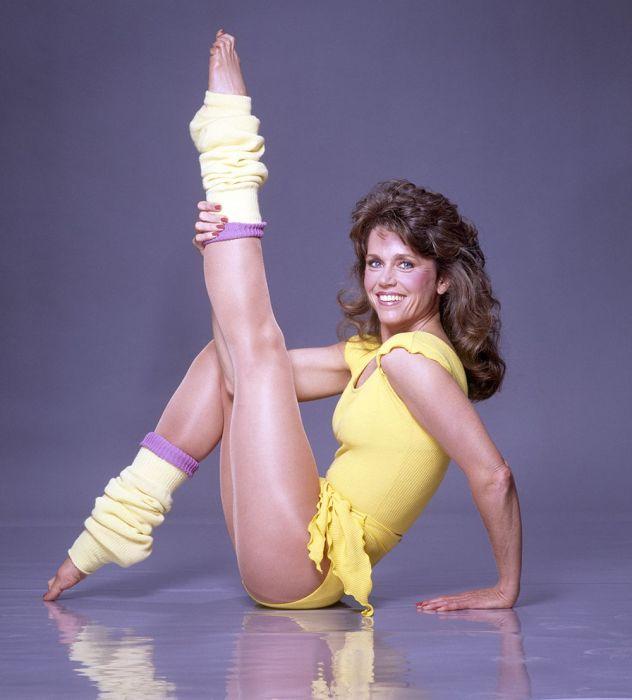 Джейн Фонда – главный популяризатор гимнастической системы «Аэробика»