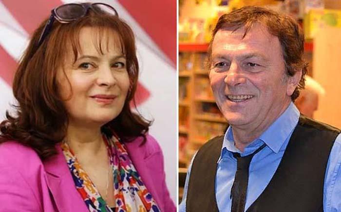 Либуше Шафранкова и Павел Травничек