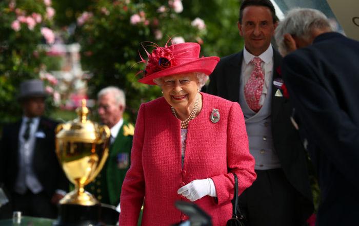 Королева – обязательный посетитель Royal Ascot