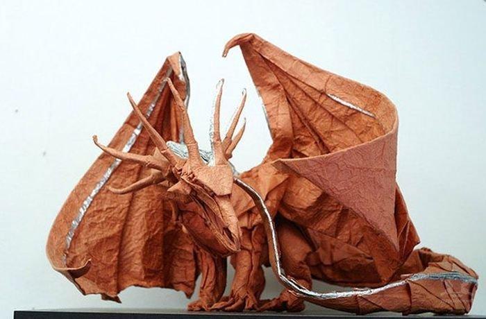 Акира Ёсидзава, оригами «Дракон»