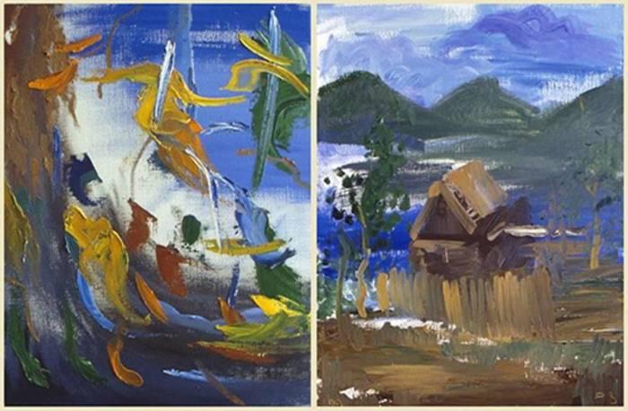 Картины Сергея Поползина очень объемны