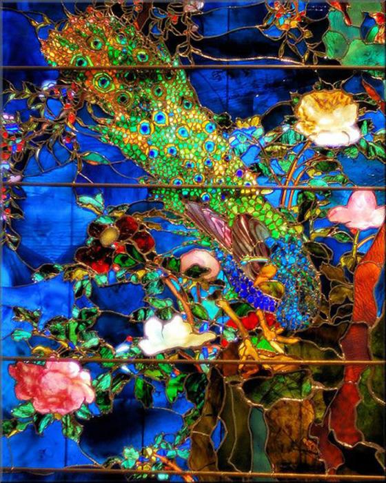 Джон Ла Фарж (США), витражное окно