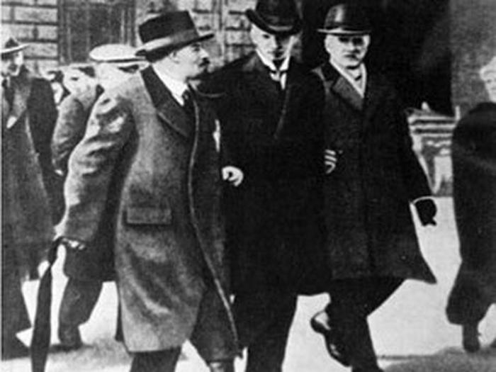 Ленин в Стокгольме, 1917 год
