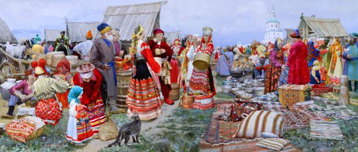 О. Долгая, Свенская ярмарка