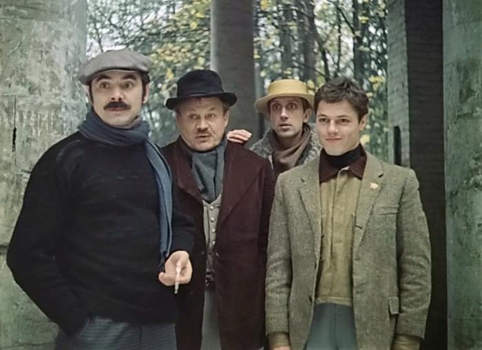Кадр из к/ф «Мы из джаза», 1983 год