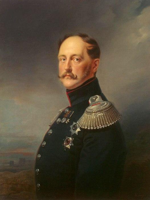 Портрет Николая I кисти Франца Крюгера