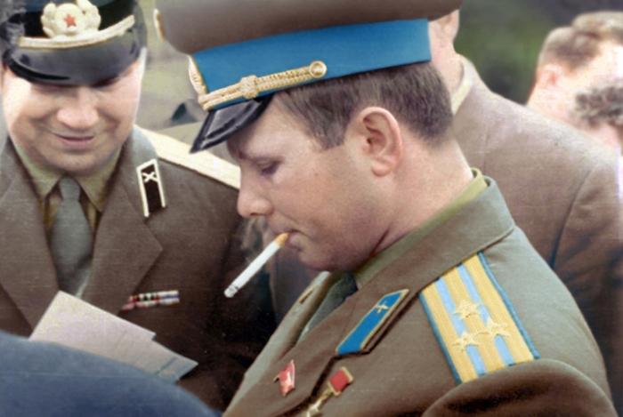 Юрий Гагарин, 1966