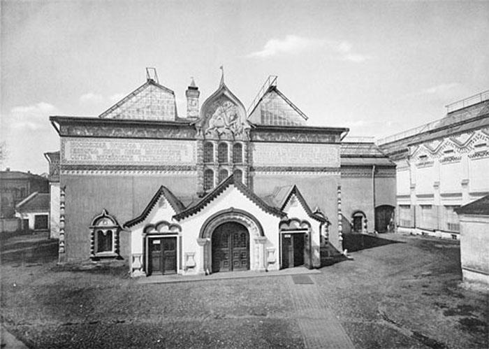 Здание Третьяковской галереи в Лаврушинском переулке, 1913 год