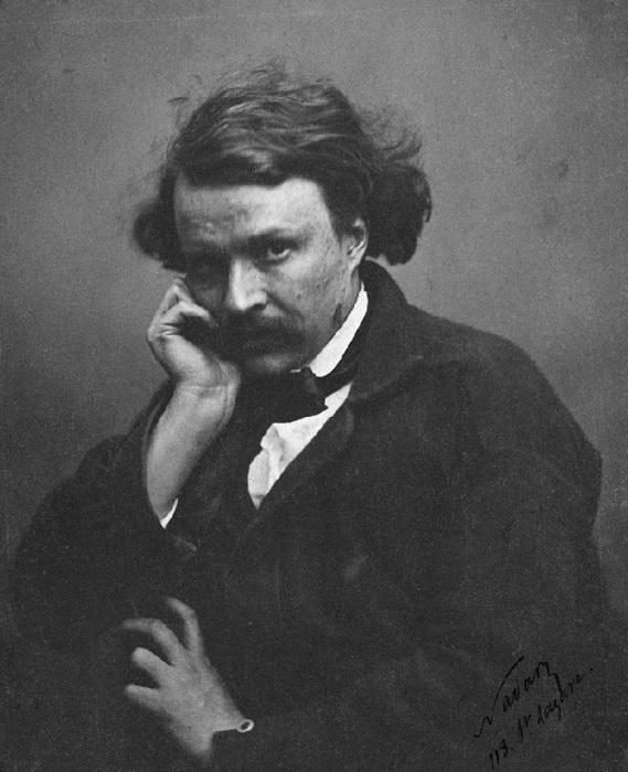 Автопортрет Надара, около 1855 года