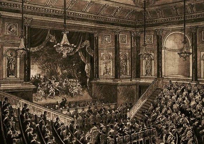 Представление в Эрмитажном театре, Санкт-Петербург