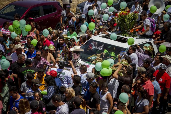 Ежегодная церемония, аналогичная Крестному ходу, которая проводится со статуей Хесуса Мальверде в мексиканском городе Кульякане