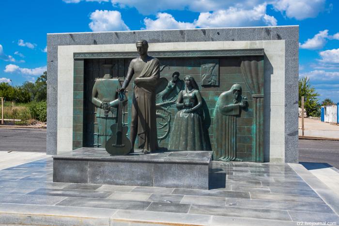 М. Шемякин, Памятник Владимиру Высоцкому