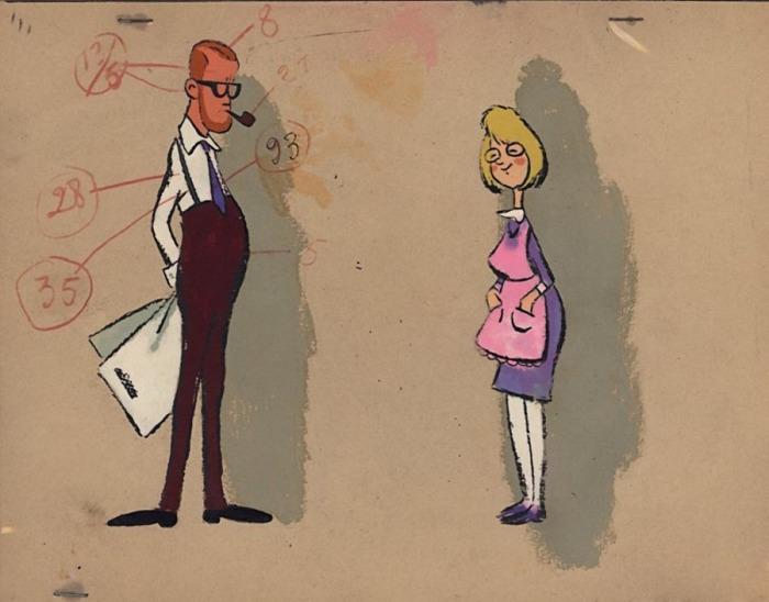 Василий Ливанов считал, что нарисованный Карлсон поход на режиссера Григория Рошаля, поэтому в процессе озвучки он создавал пародию.