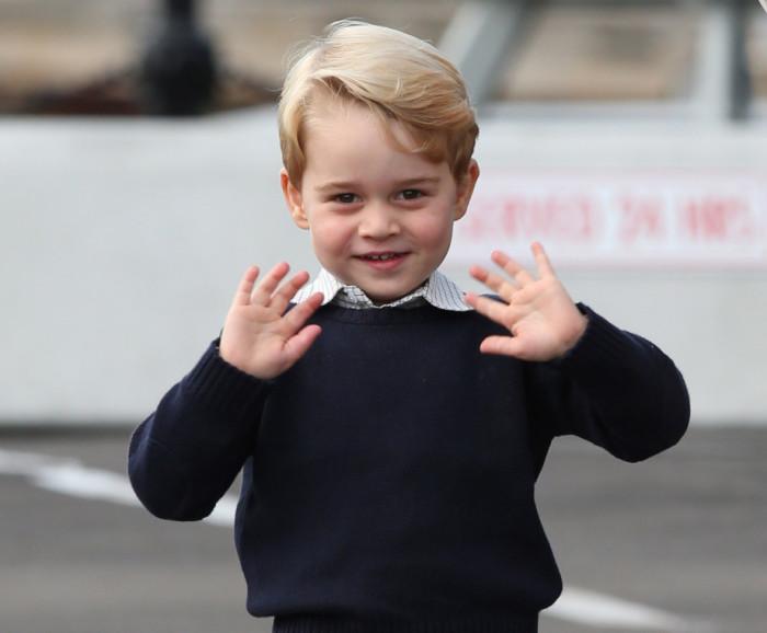 Его Королевское Высочество принц Джордж Кембриджский, старший сын принца Уильяма