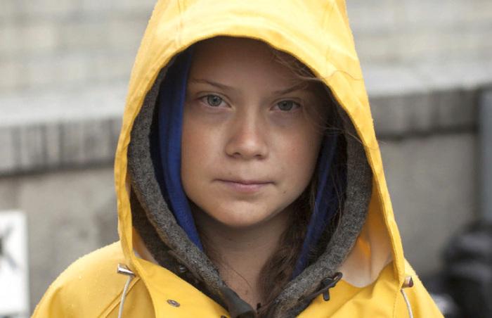 Грета Тунберг - шведская экологическая активистка