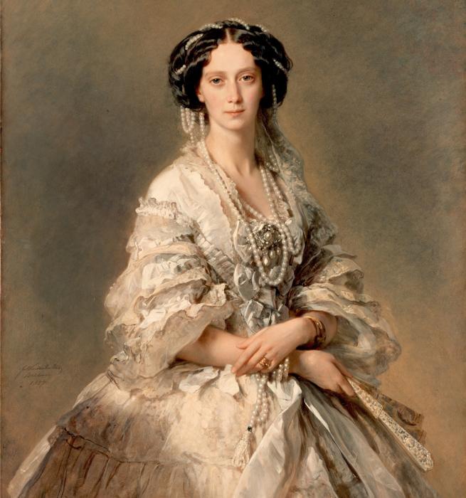 Ф.К. ВинтерÑальтен, портрет императрицы Марии Александровны