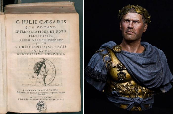 Гай Юлий Цезарь и его «Записки о Галльской войне», издание 1698 г.