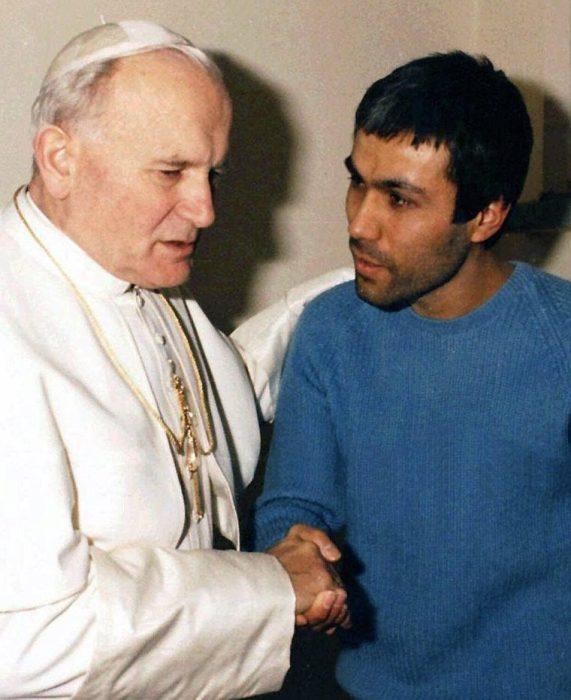 Разговор Иоанна Павла II и Агджи