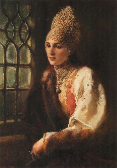 Константин Маковский, Боярыня