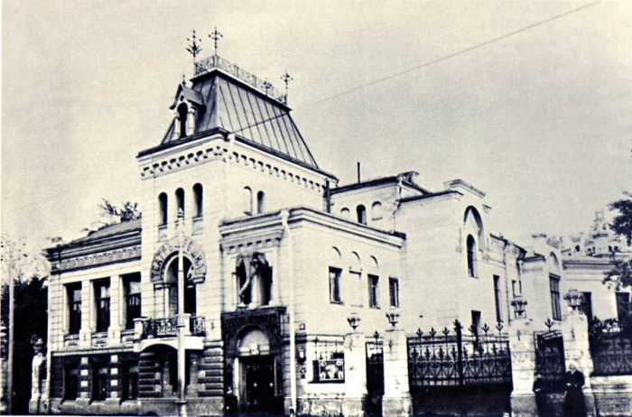 Старое здание «Театр Крошка» на Божедомке