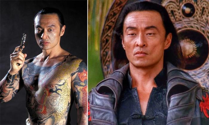 Много лет Тагава специализировался на исполнении ролей отрицательных персонажей