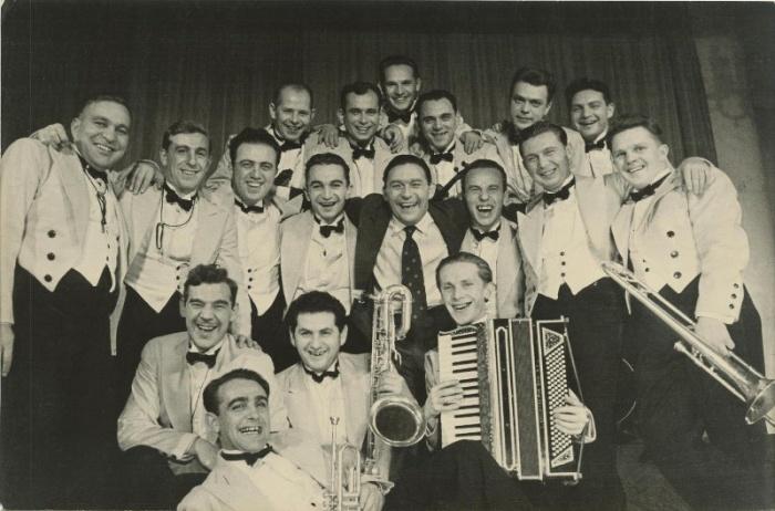 Оркестр Леонида Утесова, 1930 г.