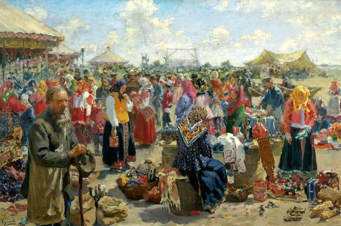 И.С. Куликов, Ярмарка